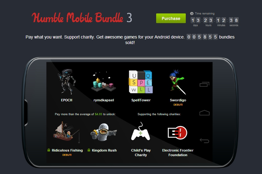 Humble Mobile Bundle 3 header