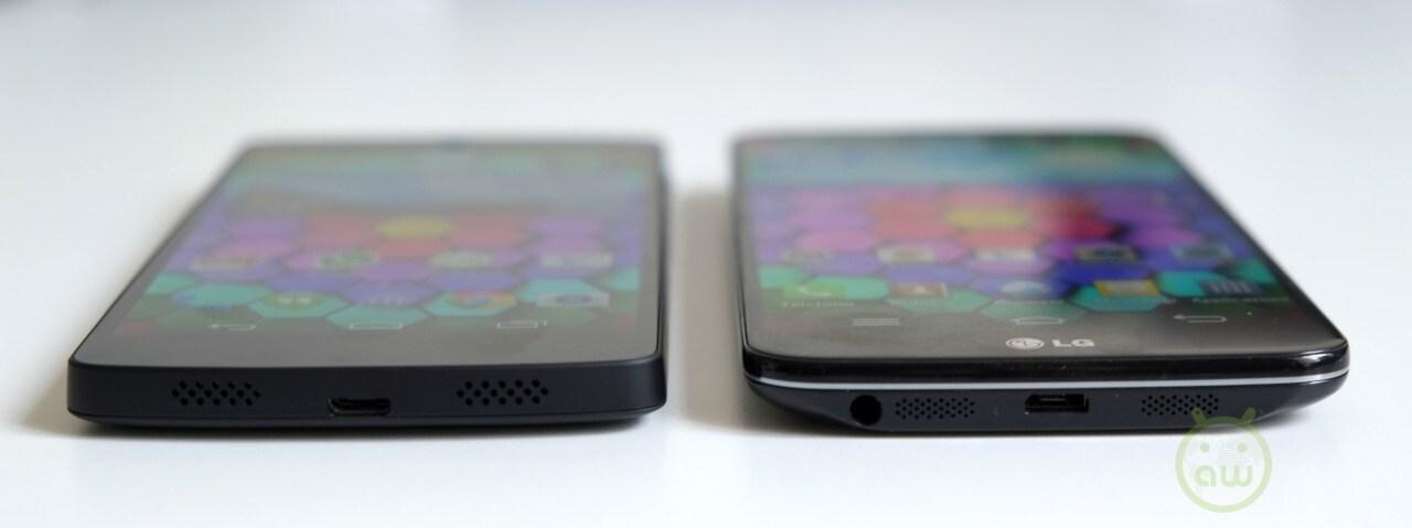 LG Nexus 5 vs LG G203