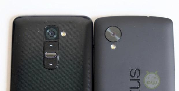 LG Nexus 5 vs LG G214