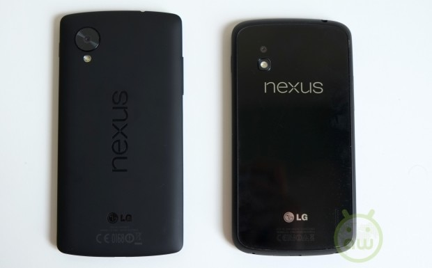 LG Nexus 5 vs LG Nexus 4 8
