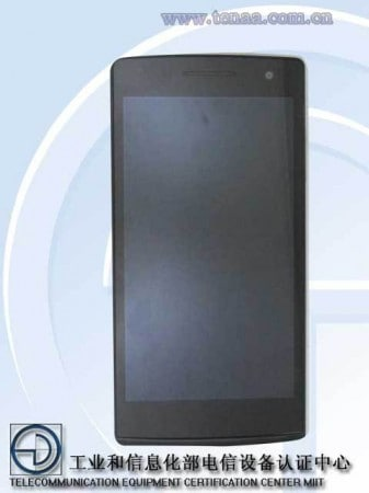 Oppo R827 front