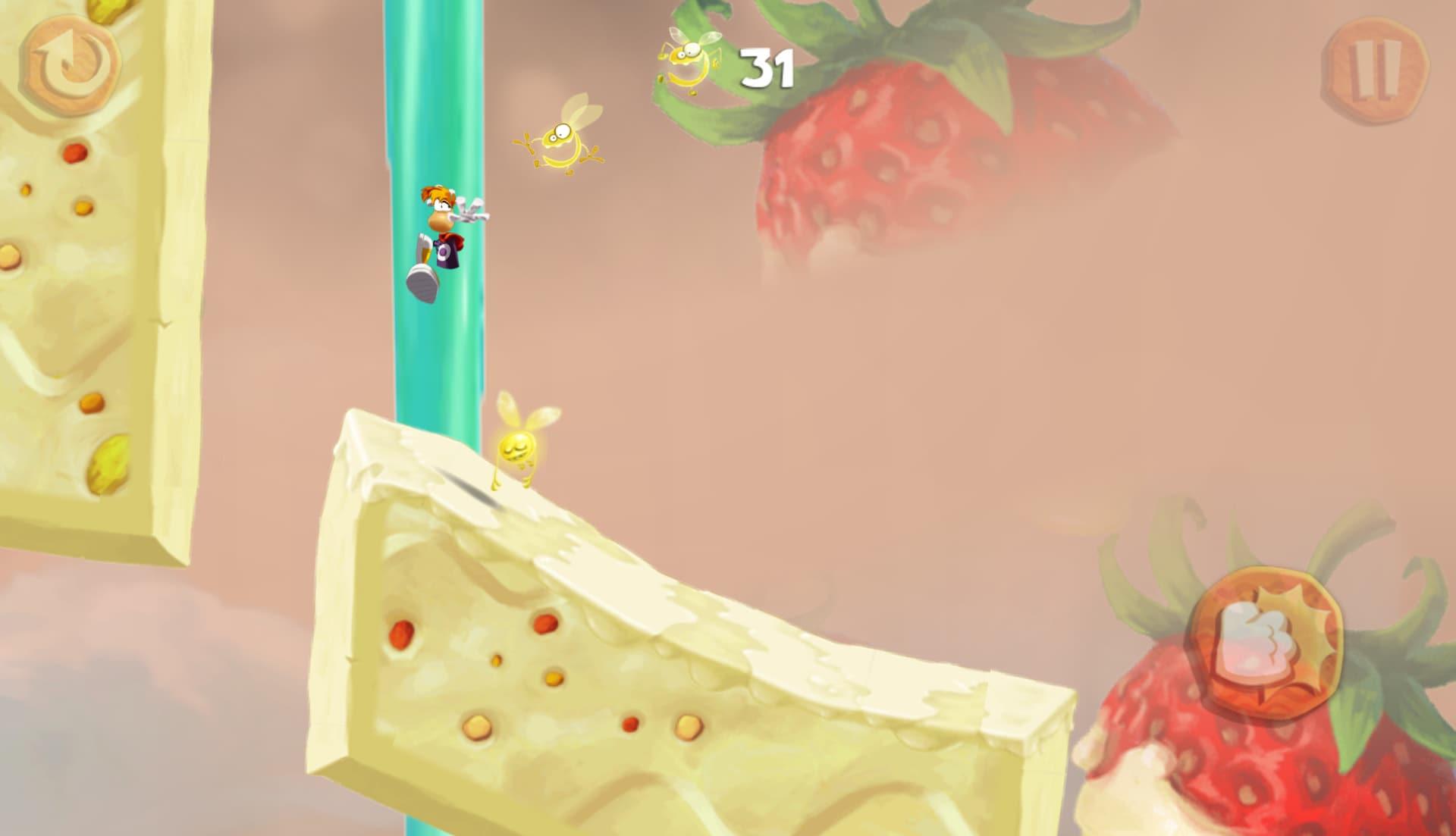 Wall Jump, corsa sui muri, insomma, Rayman e compagni ne sanno di parkour!