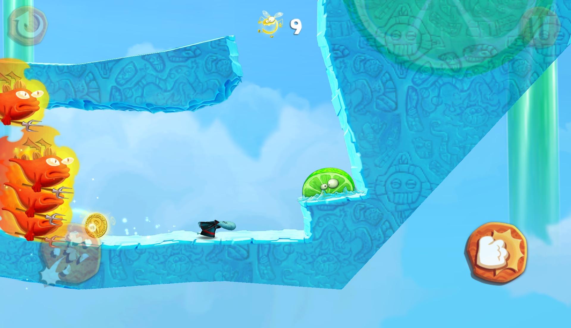 Oltre ai canonici livelli, sono presenti alcuni stage dove bisognerà fuggire da veri e propri boss.