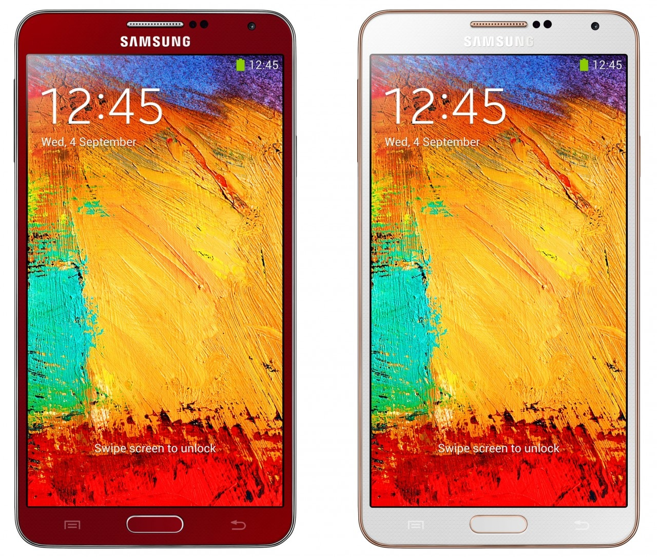 Samsung-Galaxy-Note-3-red - gold