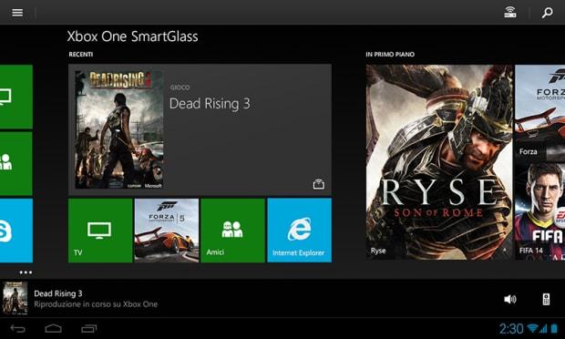Xbox One SmartGlass tablet (4)