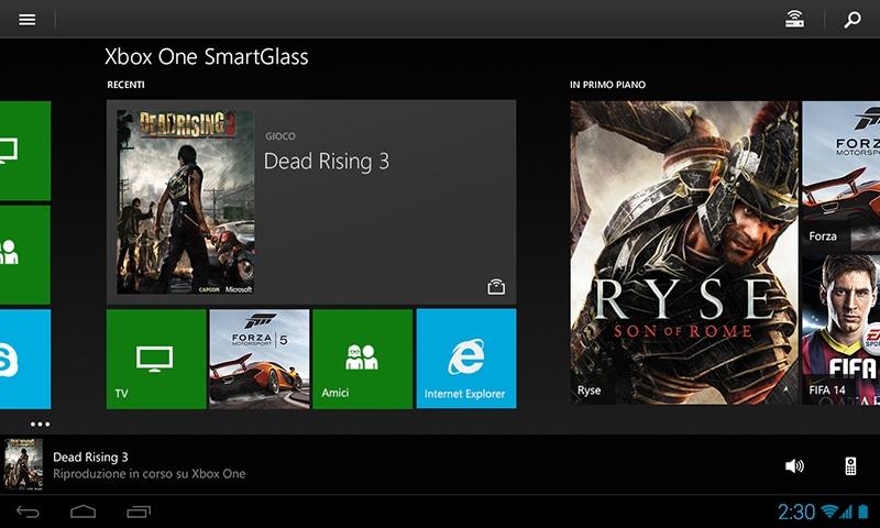 Xbox One SmartGlass si aggiorna con molte novità