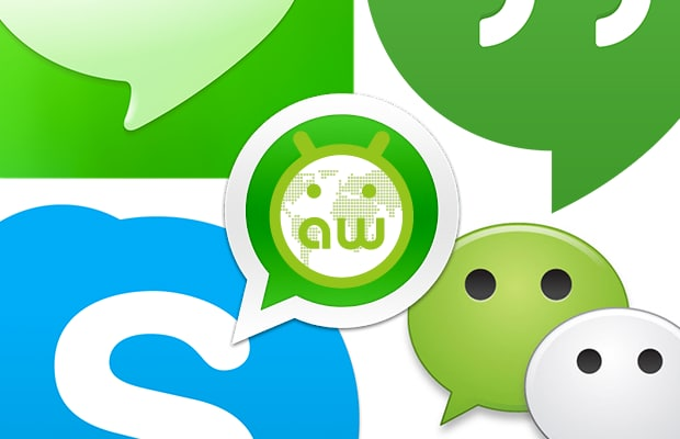 Chat app su Android