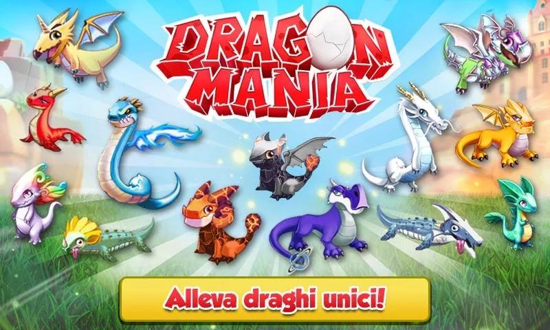 dragon mania header