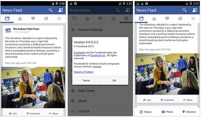 facebook 4.0