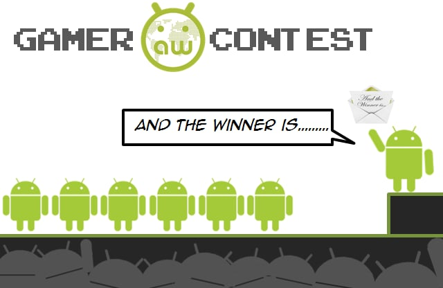 gamer contest and the winner is