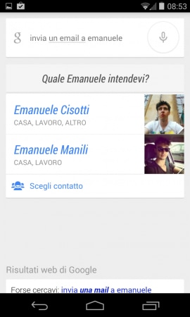 google now email