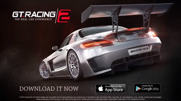 gt racing 2 the real car experience header