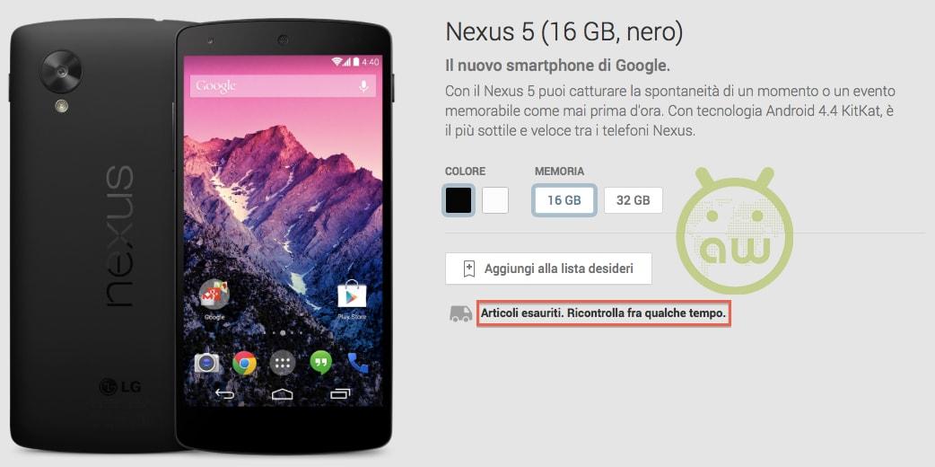 nexus-5-16-gb-esaurito