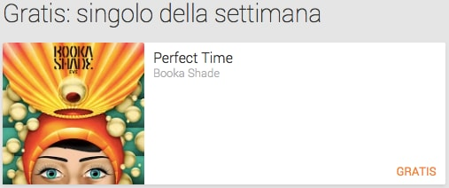 perfect time singolo settimana