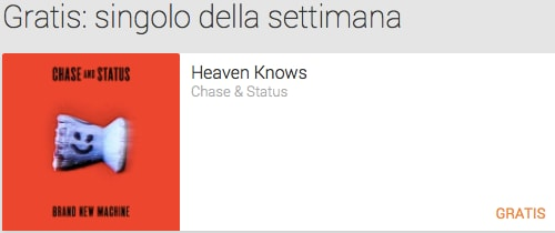 singolo settimana heaven knows