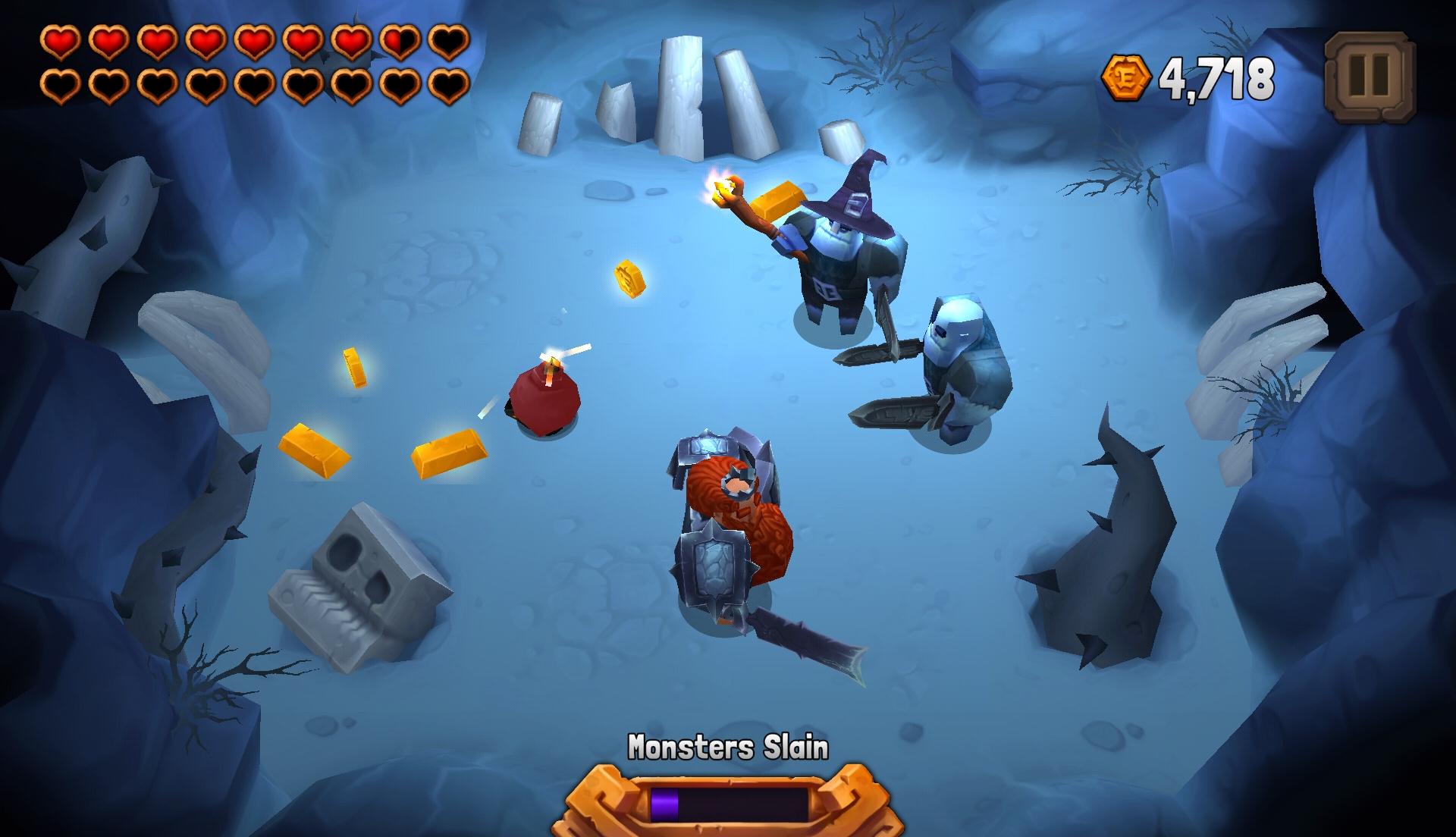 Prima di passare alla prossima zona, bisognerà sgomberare il cancello tramite una sorta di missione in stile survival.