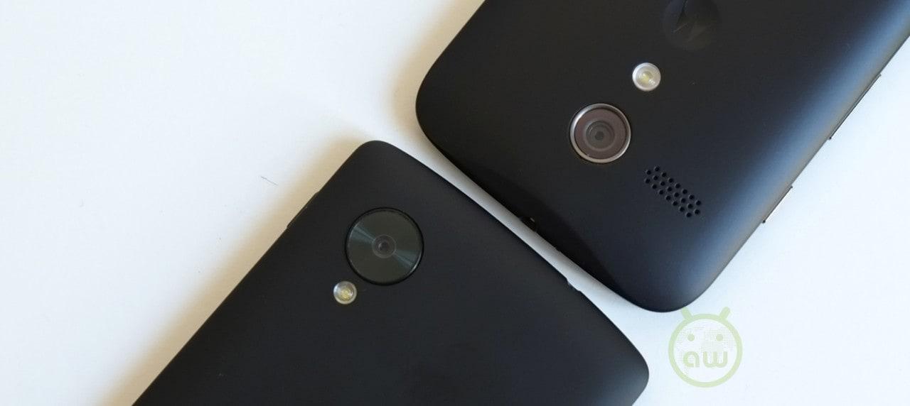 Confronto LG Nexus 5 vs Motorola Moto G 11