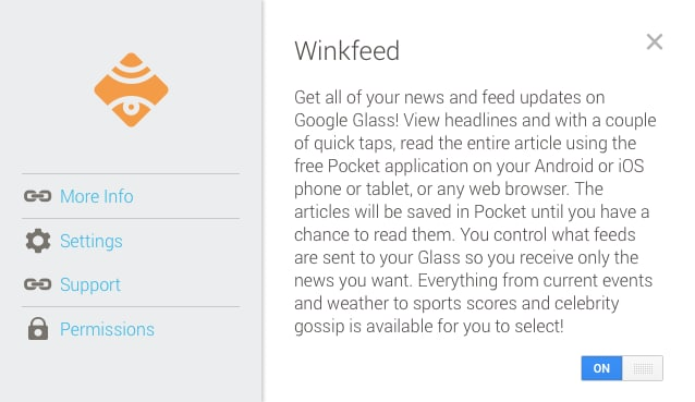 Glass - Winkfeed