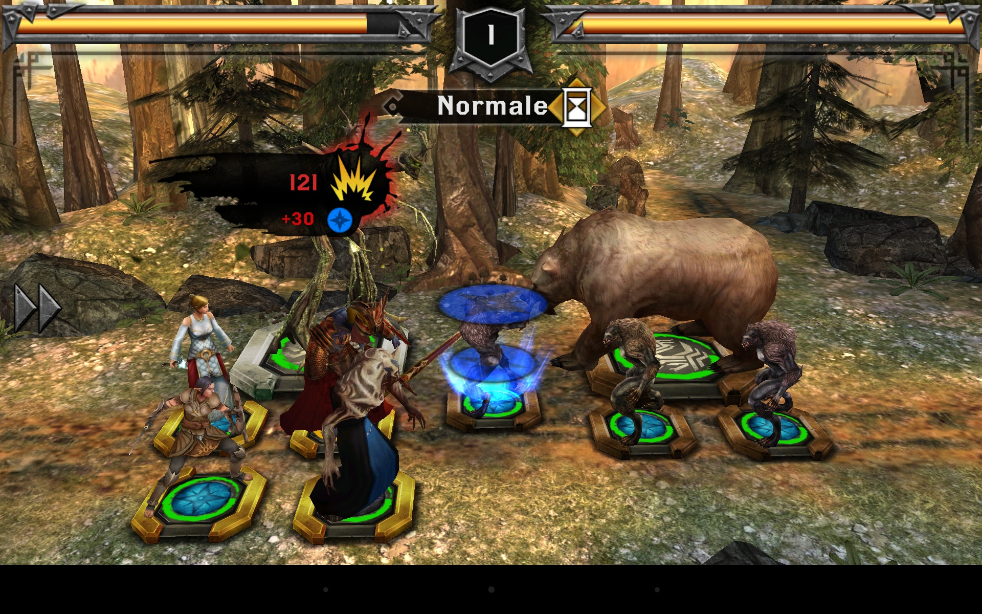 Con le rune potremo ricevere alcuni boost durante i combattimenti. Queste possono essere trovate nei pacchetti.