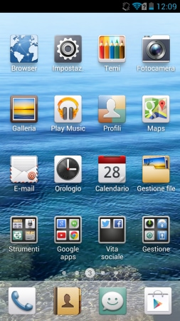 Huawei Ascend G525 Home