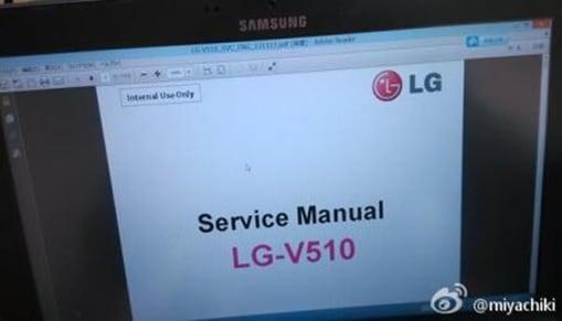 LG G Pad 8.3 LTE manuale