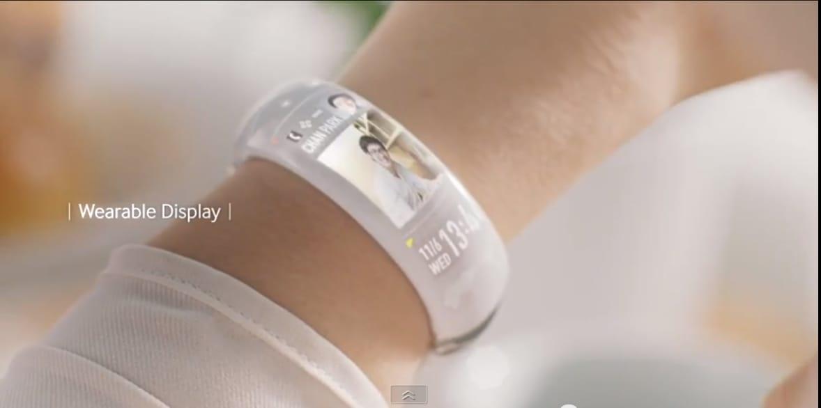 Samsung Wearable Display