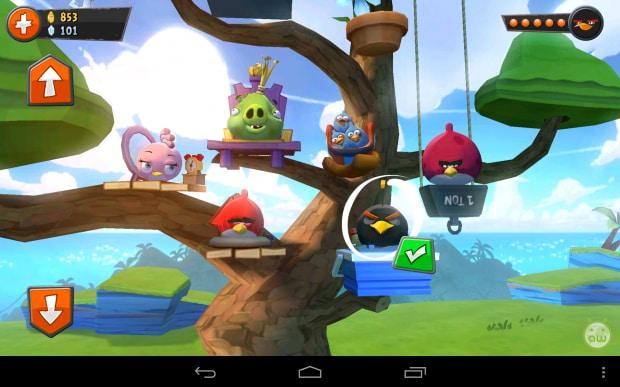 angry birds go personaggi