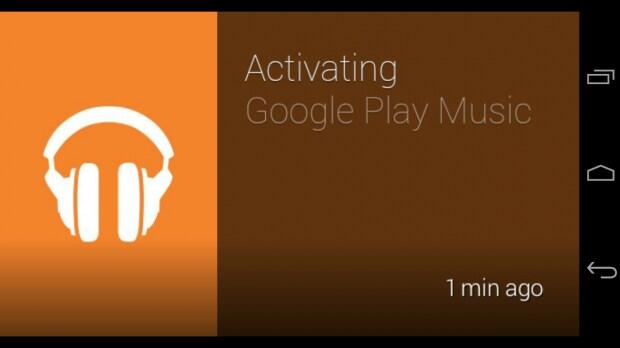 glass play music attivazione