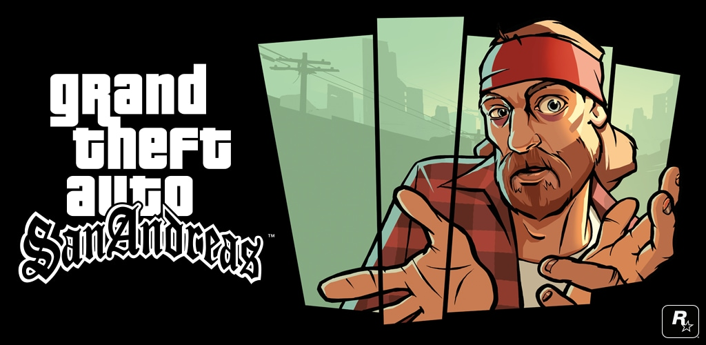 grand theft auto san andreas header