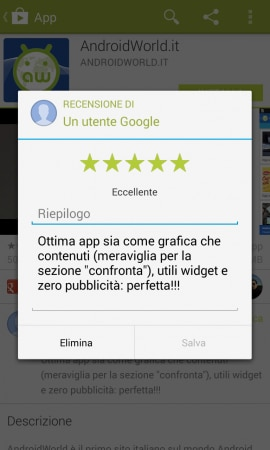 play store 4.5.10 recensione