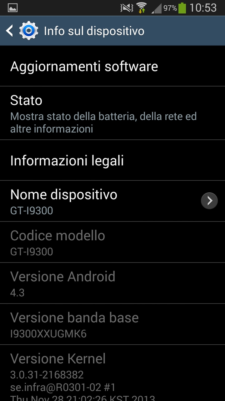 s3 android 4.3 8