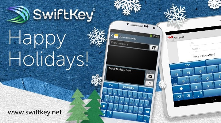 swiftkey holiday