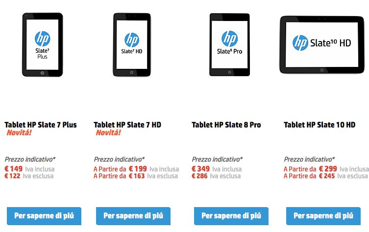 tablet hp