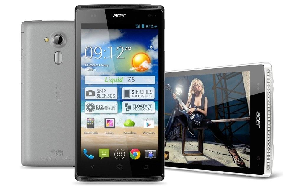 Acer Liquid Z5 ufficiale: nuovo dual-core da 5'' a 169€ (foto)