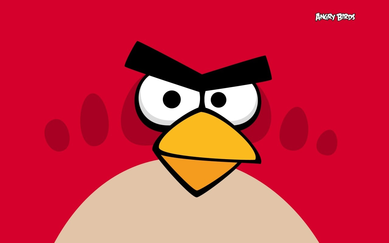 Angry Birds Red Header