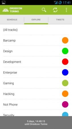 DroidCon app 1