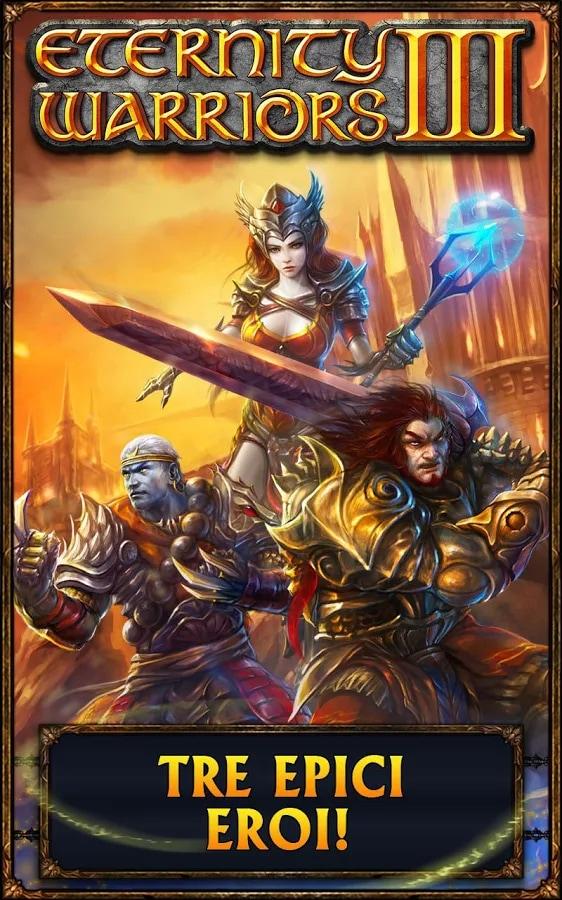Eternity Warriors 3: disponibile sul Play Store il nuovo RPG di Glu Mobile