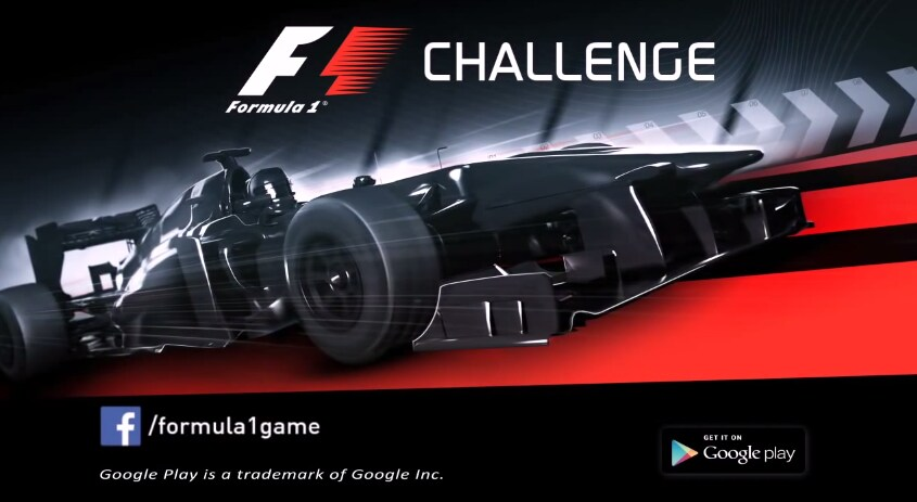 F1 Challenge header