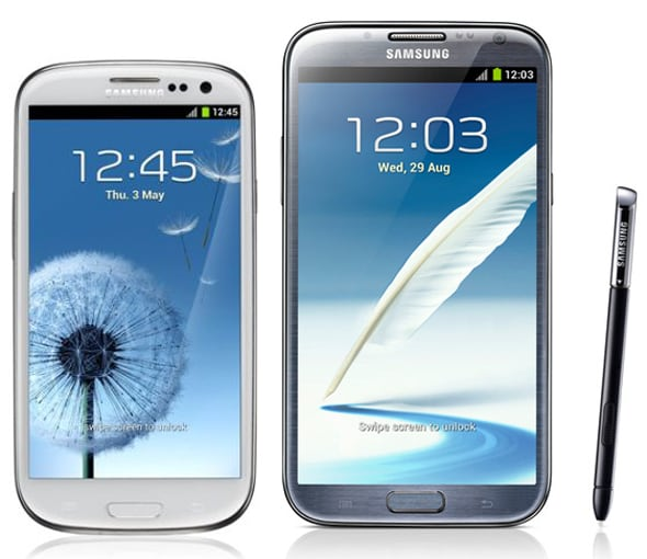Galaxy S III Note II