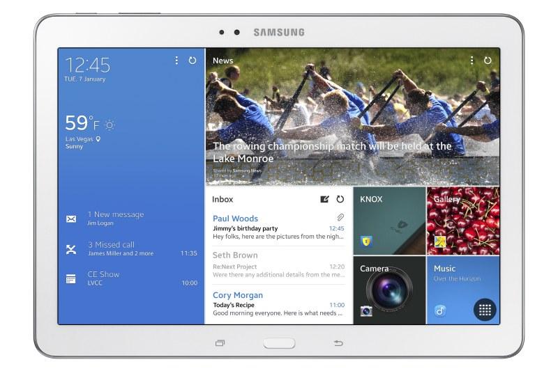 Galaxy Tab Pro 10.1 front