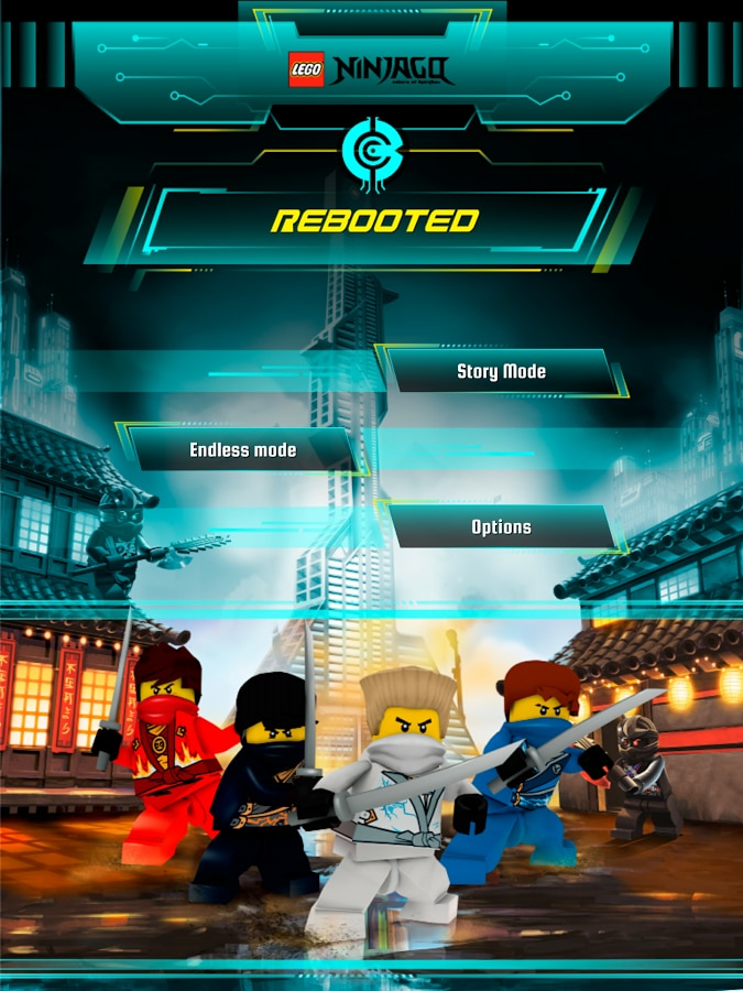 Lego Ninjago REBOOTED Header