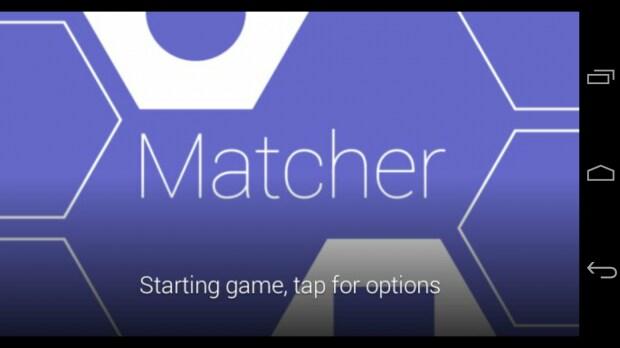 Matcher 1