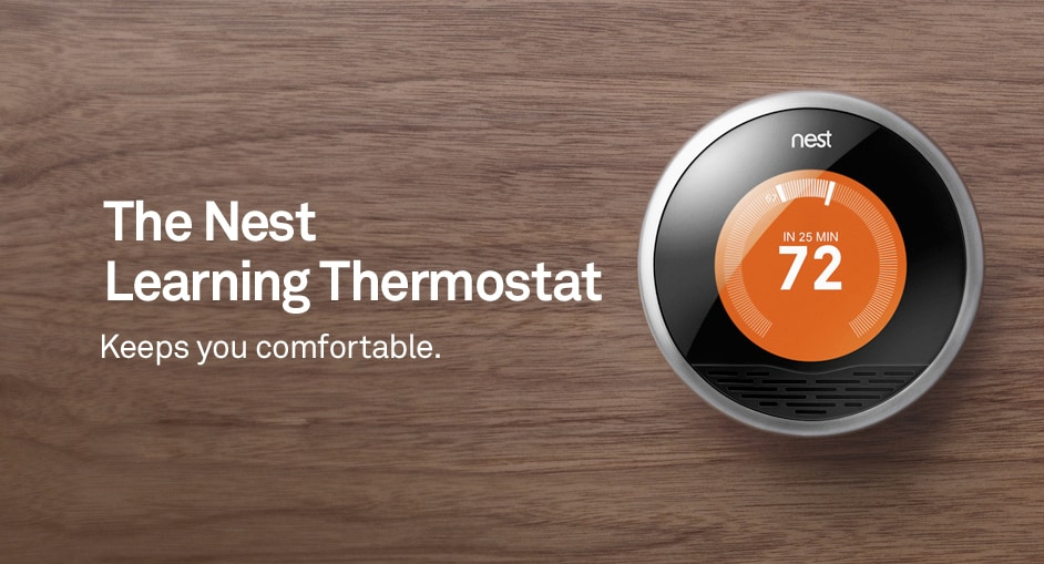 Nest Thermostat header