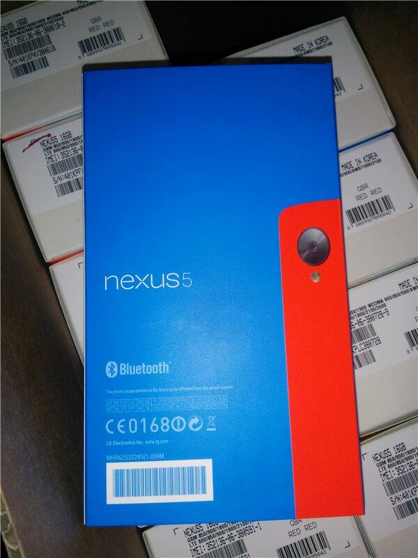 Nexus 5 rosso 3