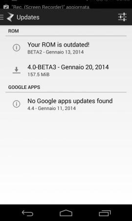 Paranoid Android beta3 7