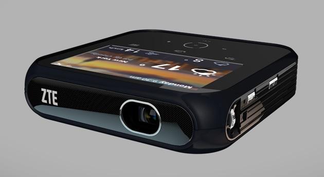 ZTE presenta un proiettore-hotspot LTE con Android