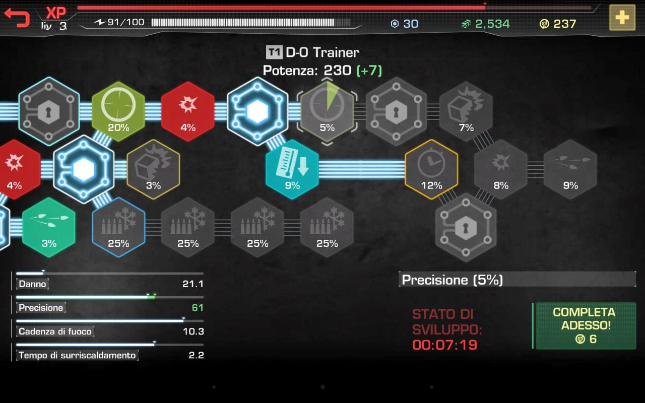 Ecco come si presenta il sistema di sviluppo in RoboCop.