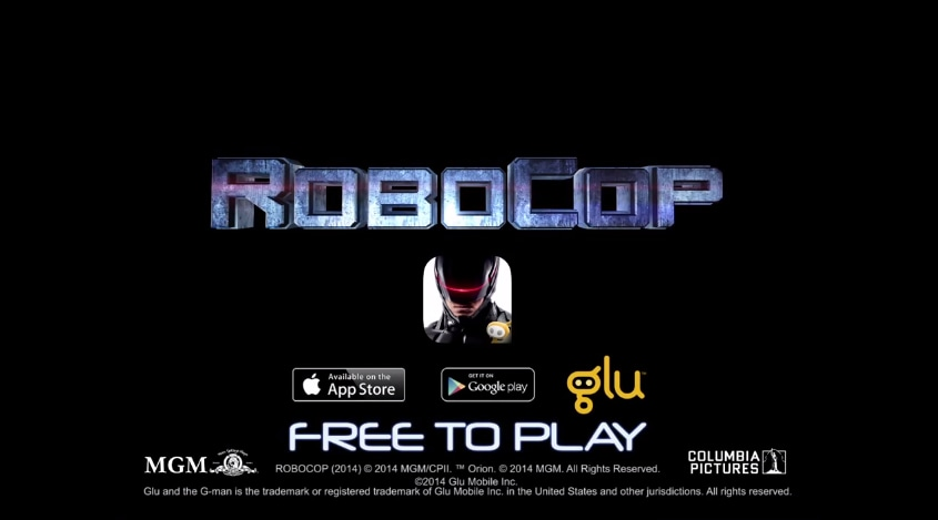 Robocop Game header