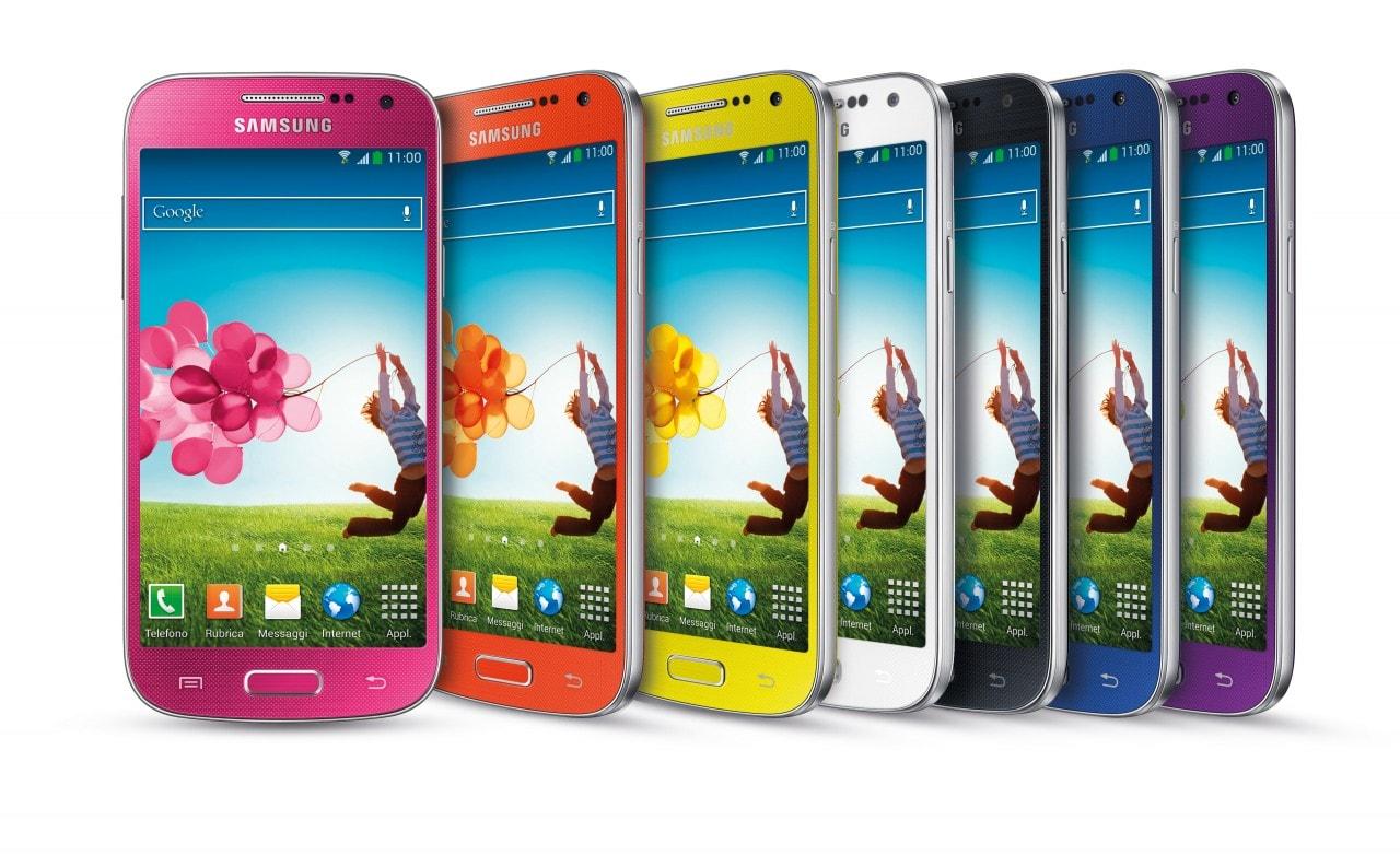 Samsung Galaxy S4 Mini colori