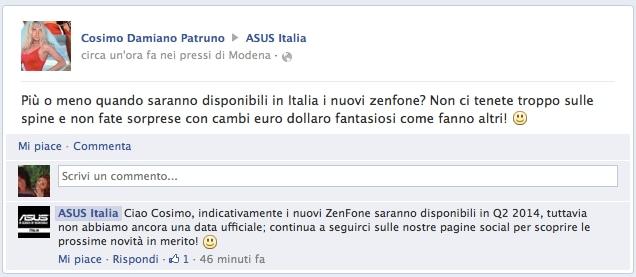 ASUS Italia conferma gli ZenFone entro l'estate